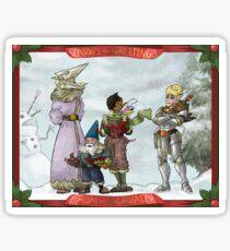 Solstice Carols! Sticker