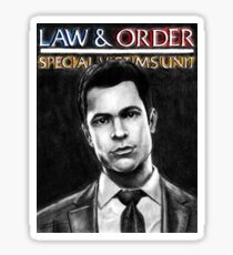 Nick Amaro from Law and Order svu Sticker