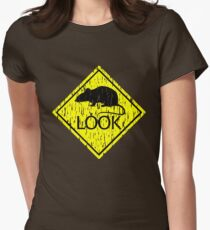 Rat Look Women's Fitted T-Shirt