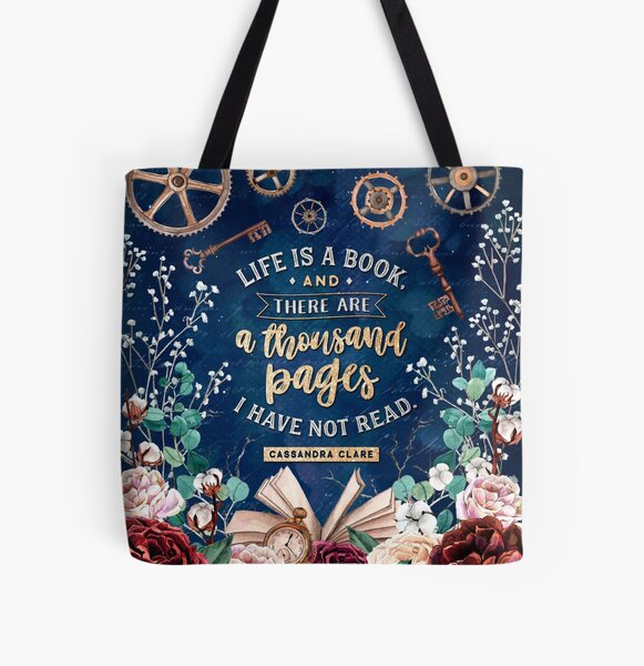 Life is a book All Over Print Tote Bag