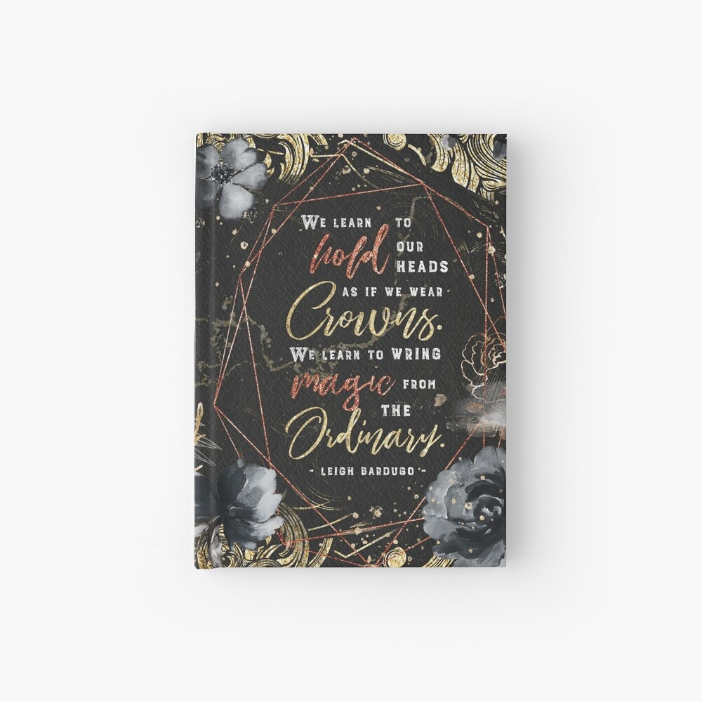 We learn to hold Hardcover Journal