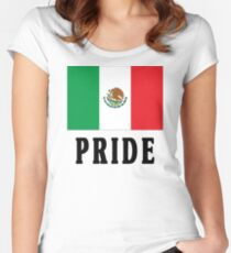 Mexican Pride Women's Fitted Scoop T-Shirt