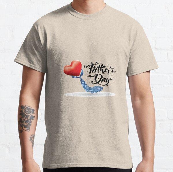 Give A Man A Fish Father Jour Cadeau Pour Lui Drôle Cadeau de Noël S-5XL T-Shirt