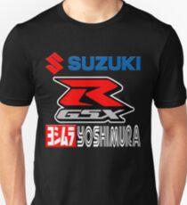 Suzuki GSX-R Yoshimura Racing Team Unisex T-Shirt