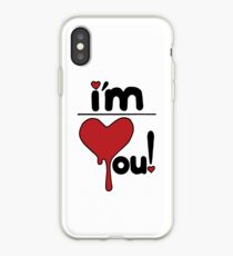 i'm over you! iPhone Case