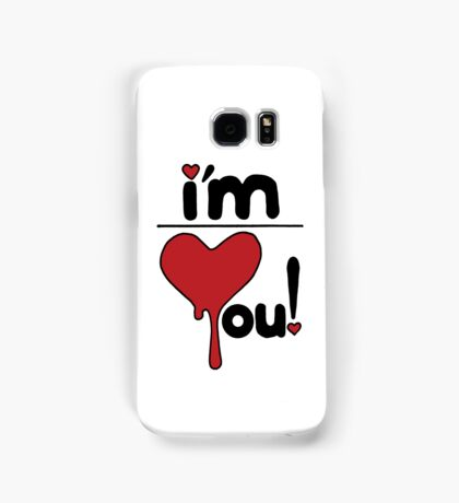 i'm over you! Samsung Galaxy Case/Skin