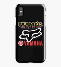 Rockstar Energy Yamaha Fox Racing iPhone Case/Skin