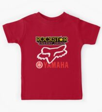Rockstar Energy Yamaha Fox Racing Kids Clothes