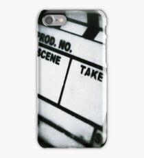 film slate iPhone Case/Skin
