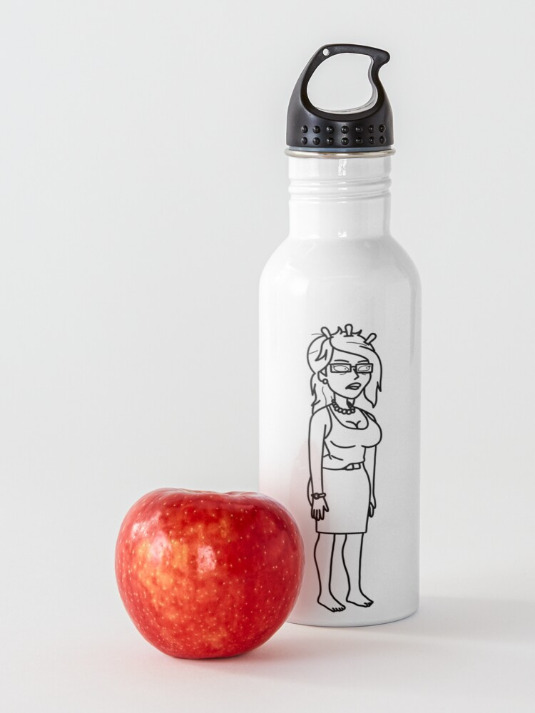Alternate view of Unity | Rick and Morty character Water Bottle