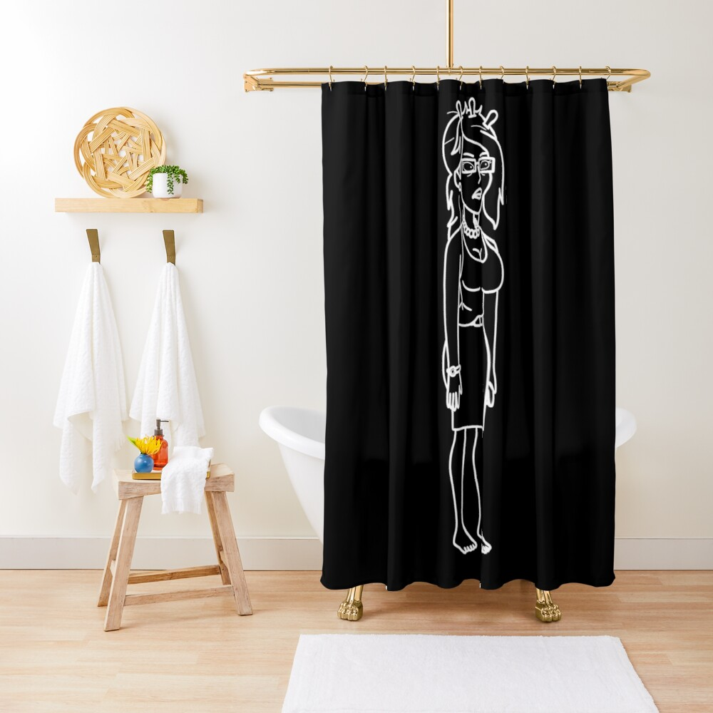 Unity | Rick and Morty character Shower Curtain