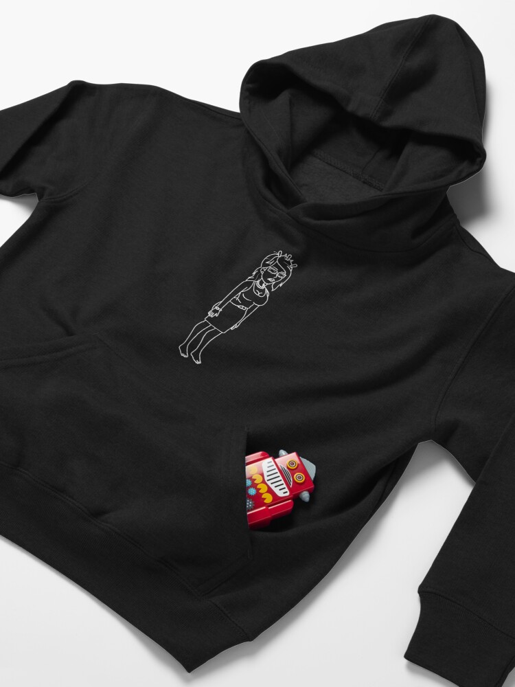 Alternate view of Unity | Rick and Morty character Kids Pullover Hoodie