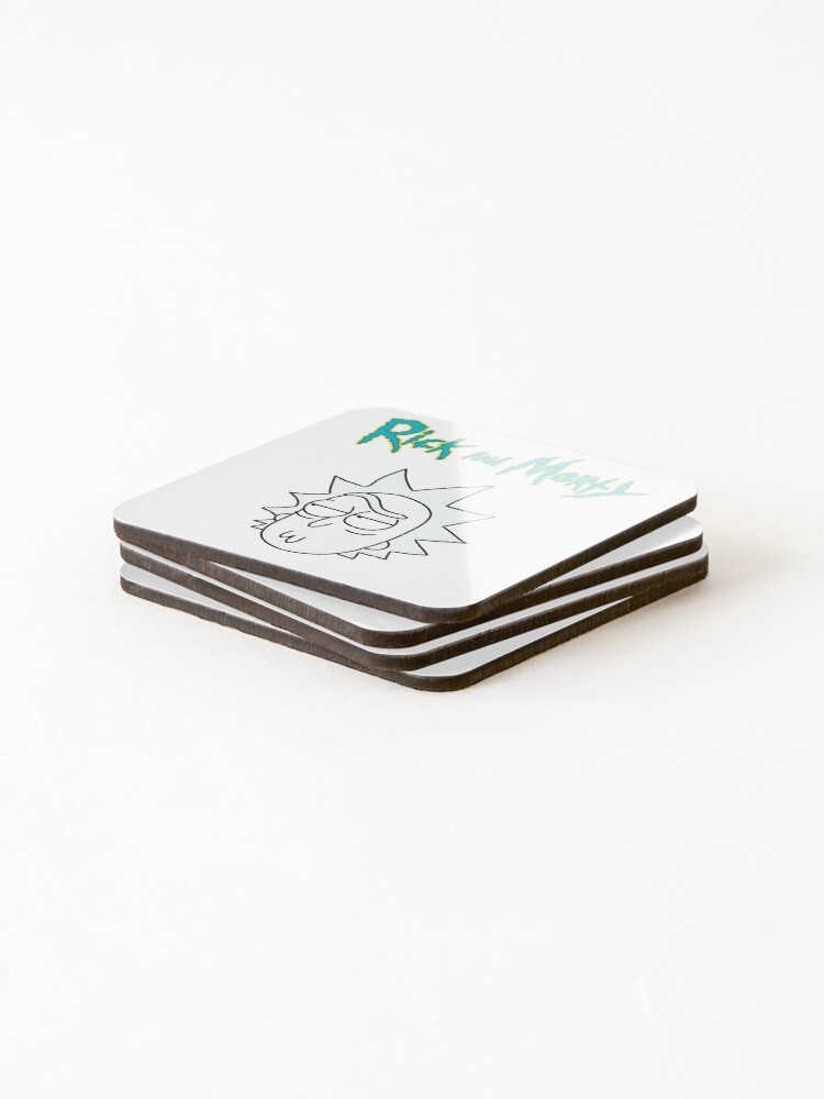 Alternate view of Rick Sanchez | Rick and Morty Character Coasters (Set of 4)