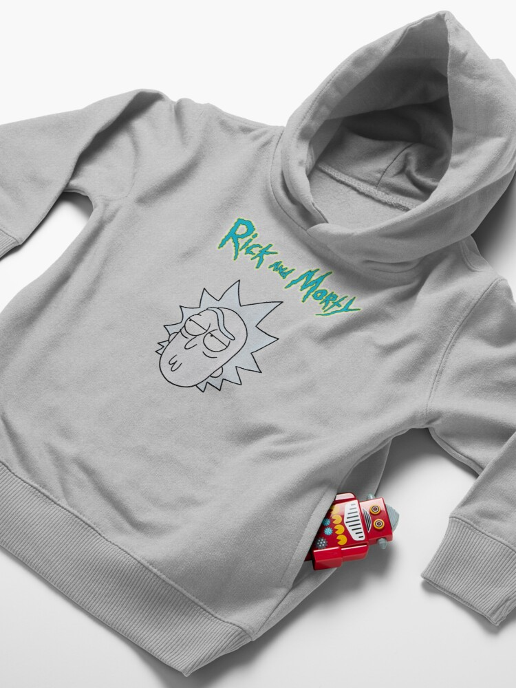 Alternate view of Rick Sanchez | Rick and Morty Character Toddler Pullover Hoodie