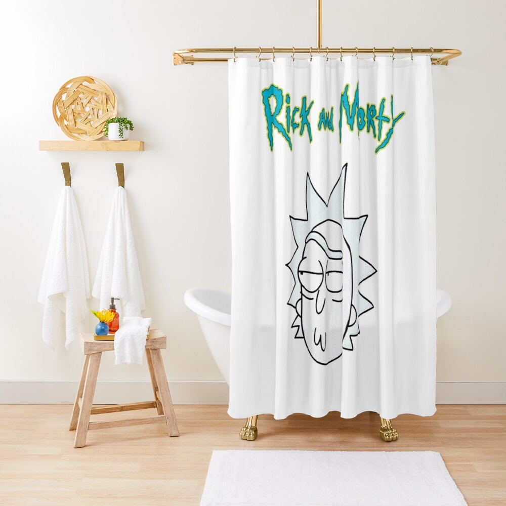 Rick Sanchez | Rick and Morty Character Shower Curtain