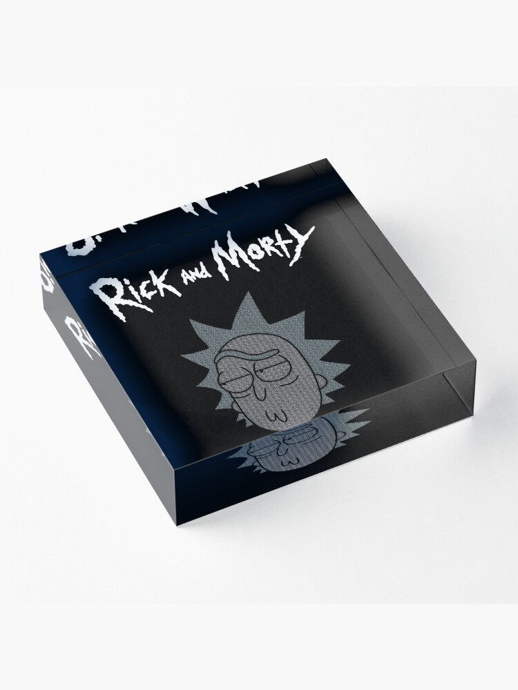 Alternate view of Rick Sanchez | Rick and Morty Character Acrylic Block
