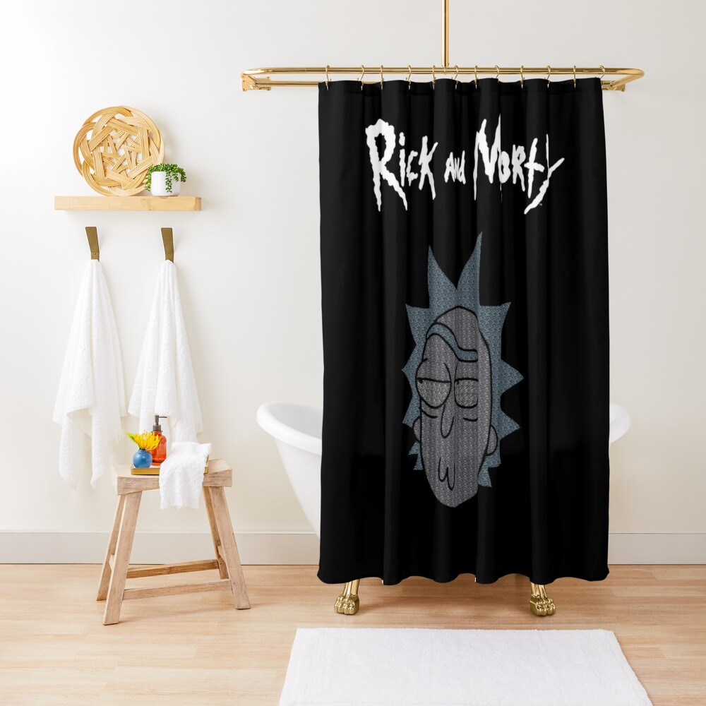 Rick Sanchez | Rick and Morty Character Shower Curtain
