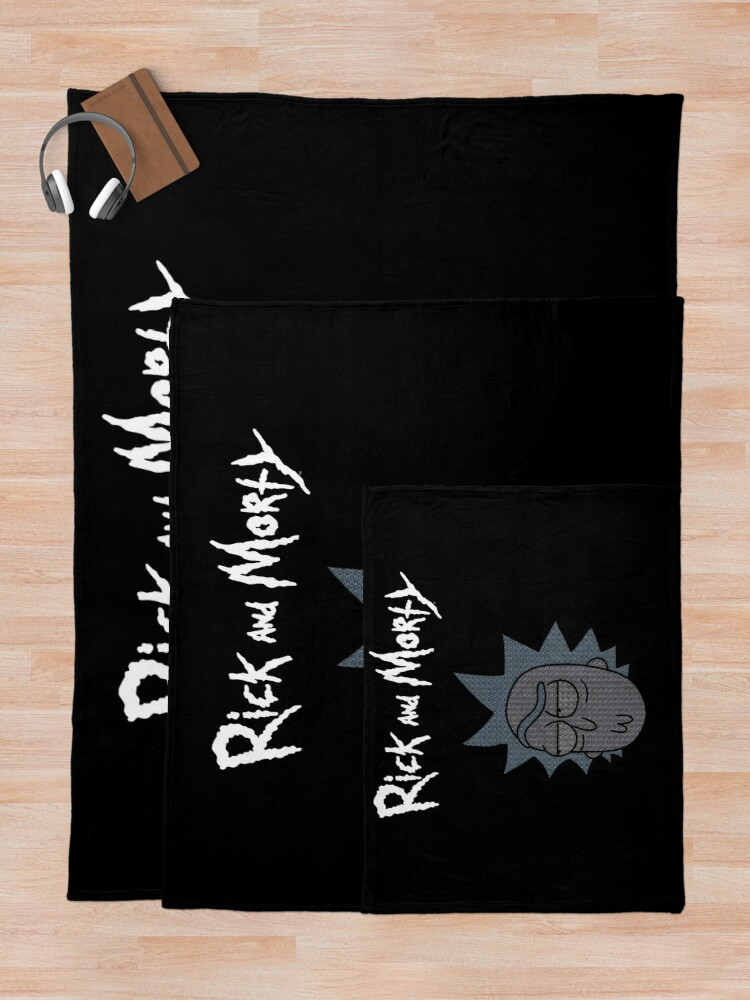 Alternate view of Rick Sanchez | Rick and Morty Character Throw Blanket