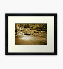 Lower McDowell Creek Falls Framed Print