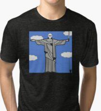 RIOt Statue Tri-blend T-Shirt