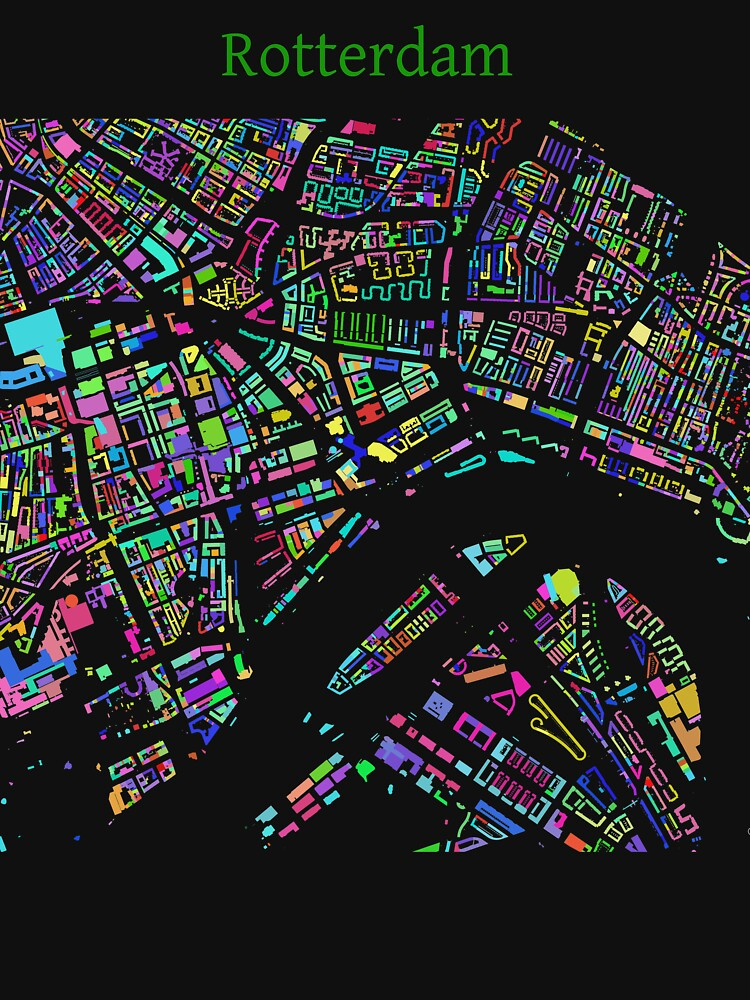 Rotterdam City of Colours by jvdkwast