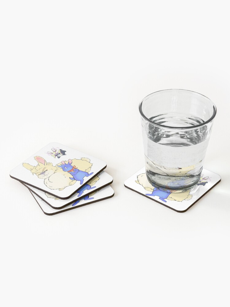 Alternate view of Bunny trio Coasters (Set of 4)