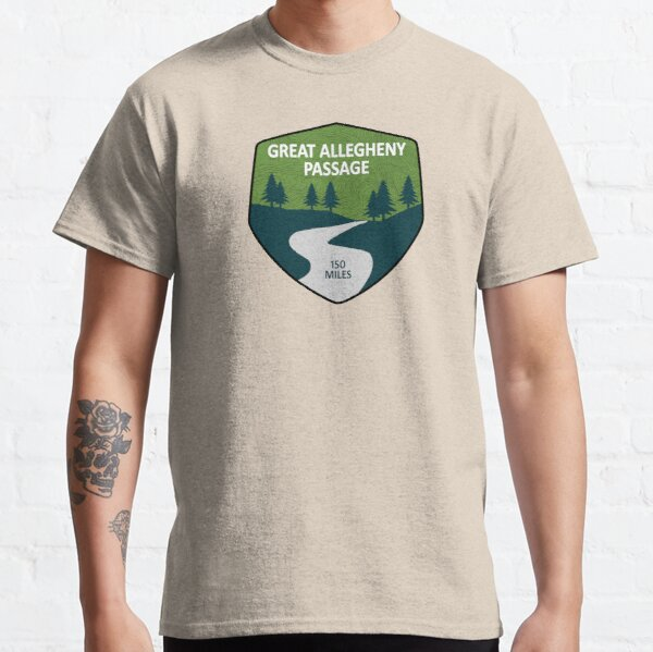 Great Allegheny Passage Classic T-Shirt