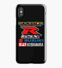 Rockstar Energy Suzuki GSX-R Yoshimura Racing Team iPhone Case/Skin