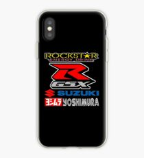 Rockstar Energy Suzuki GSX-R Yoshimura Racing Team iPhone Case