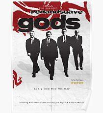 Red and Suave Gods- Bill Shankly, Bob Paisley, Joe Fagan & Ronnie Moran Poster