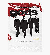 Red and Suave Gods- Bill Shankly, Bob Paisley, Joe Fagan & Ronnie Moran Photographic Print