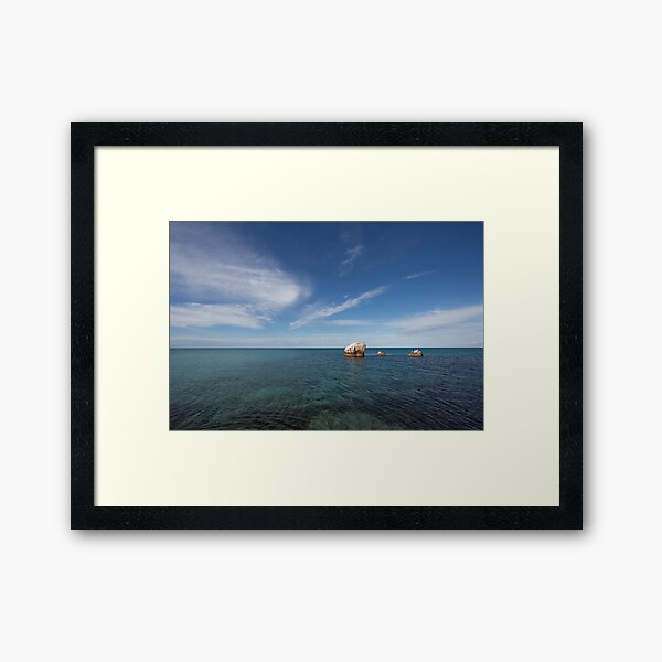 Meelup Bay Framed Art Print