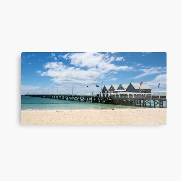 Busselton Jetty Metal Print