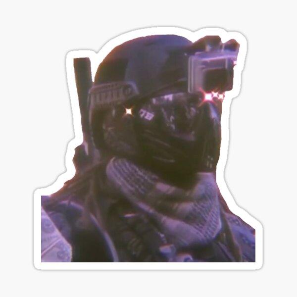 spec-ops guy Sticker