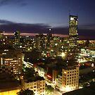 Melbourne City Lights by Paul  Donaldson
