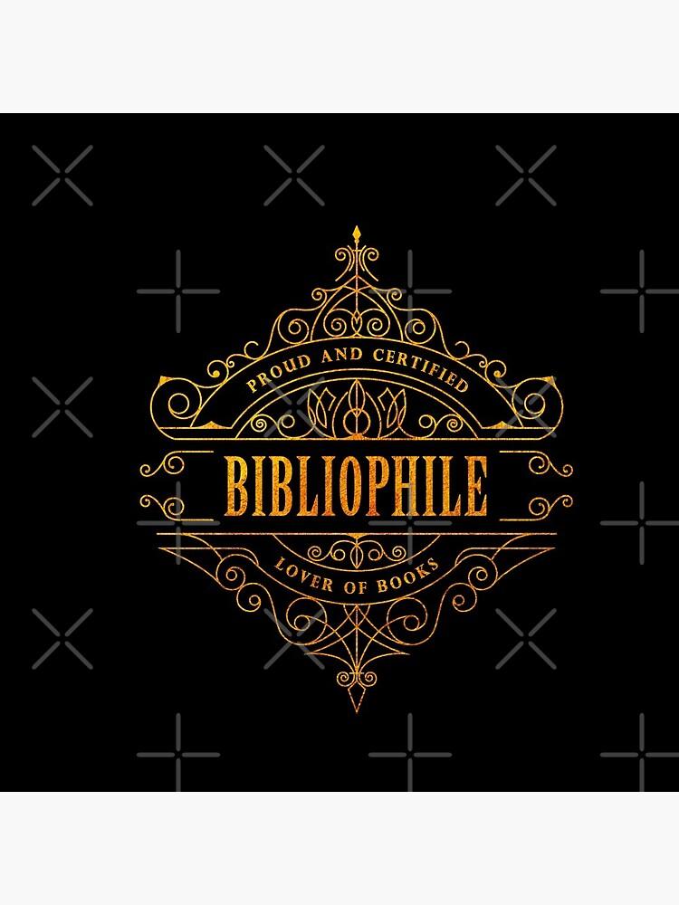 Gold Bibliophile - black by stellaarts
