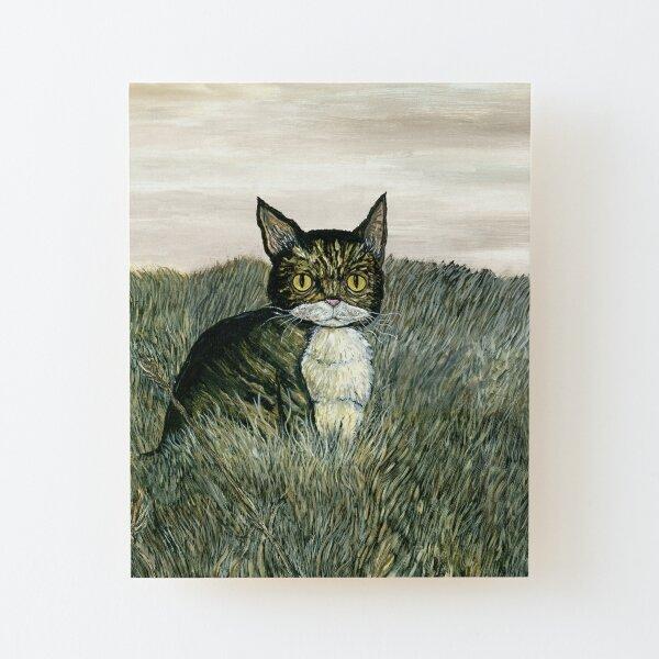 Scottish Wildcat Wood Mounted Print