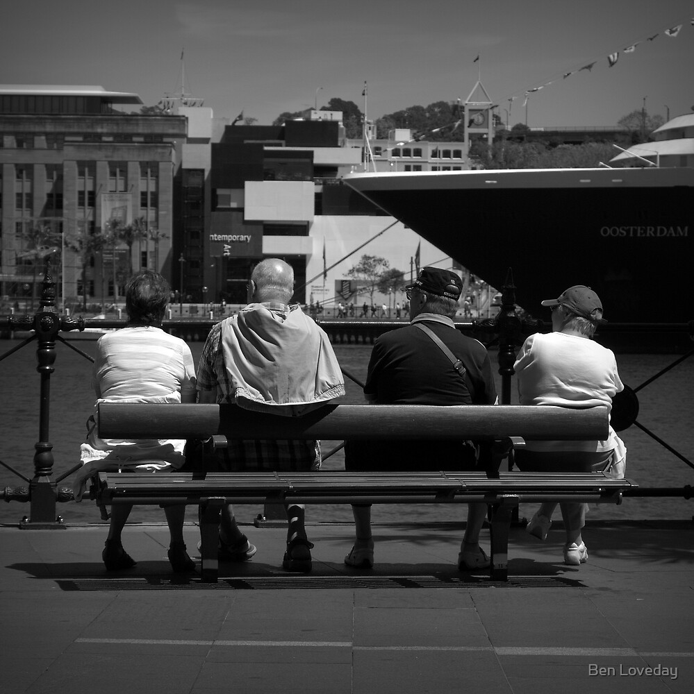 The Tourists by Ben Loveday