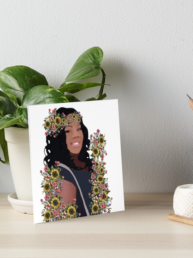 Justice For Breonna Taylor Art Board Print By Brooke Da Redbubble