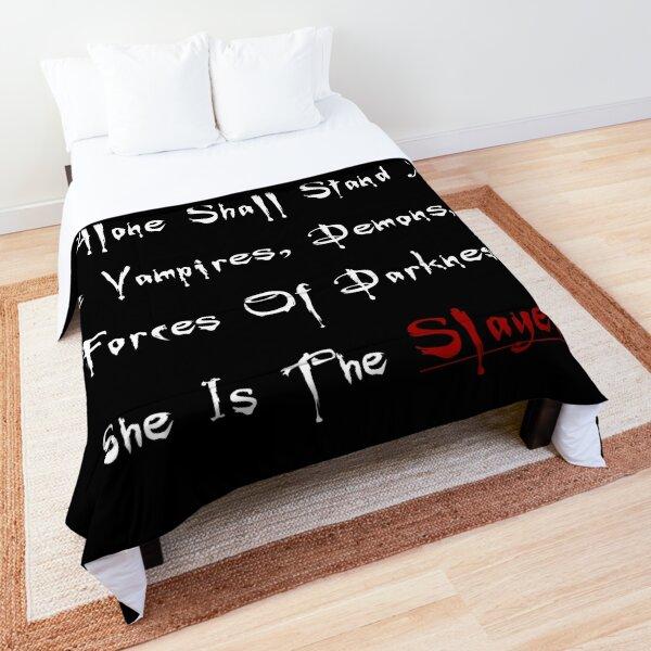 La Tueuse blanc Couvre-lit