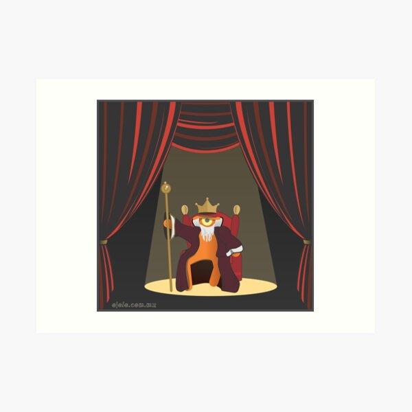 king le[ye]ar Lámina artística