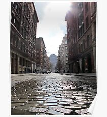 Cobbled Poster
