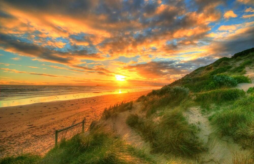 Ocean Grove Sunset by Danielle  Miner