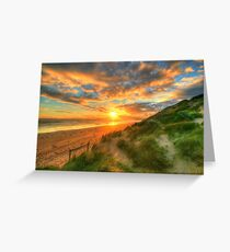 Ocean Grove Sunset Greeting Card