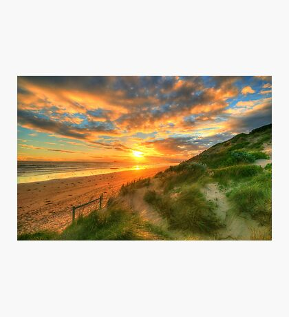 Ocean Grove Sunset Photographic Print