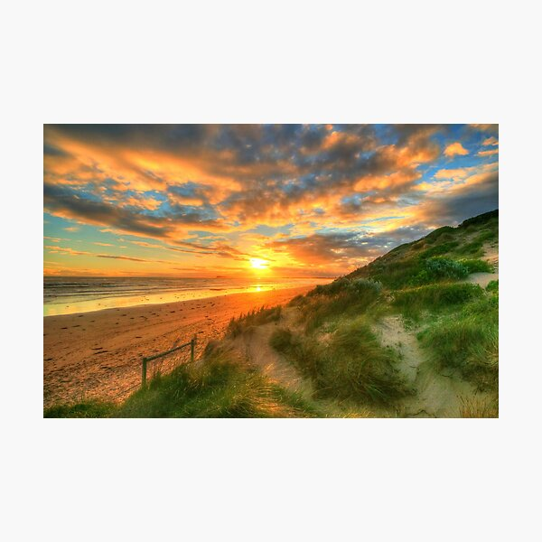 Ocean Grove Sunset Photographic Print