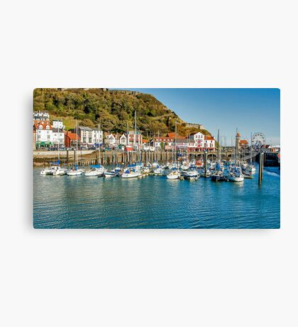 The Marina Canvas Print