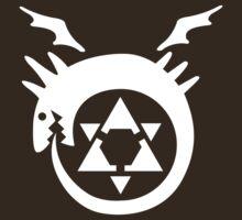 FullMetal Alchemist Uroboro [white]   Unisex T-Shirt