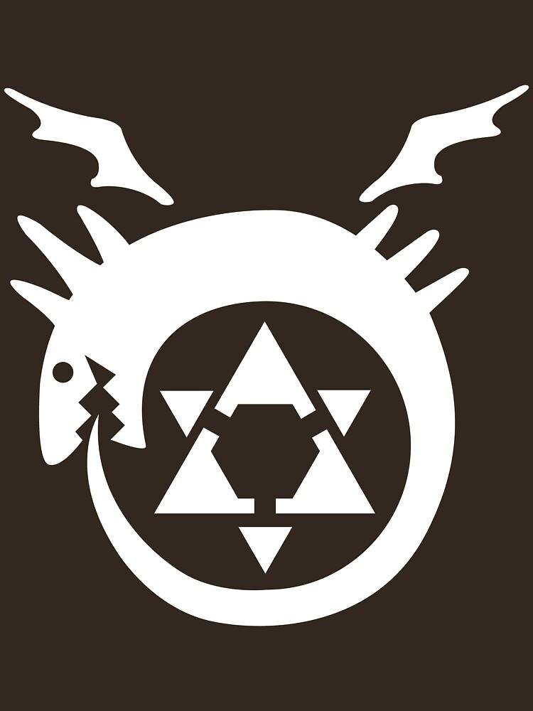 FullMetal Alchemist Uroboro [white] | Unisex T-Shirt