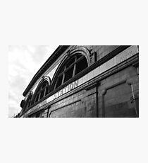 South Kensington Tube Photographic Print
